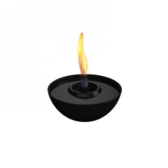 """Cheminée de table """"Rose"""" 14 cm - noir - TENDERFLAME"""