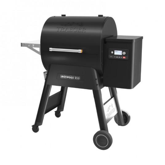 "Barbecue à pellets ""Ironwood 650"" noir - TRAEGER"