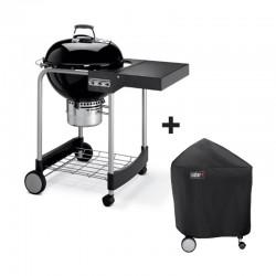 Barbecue au charbon Performer Original GBS 57 cm noir + housse offerte de la marque WEBER