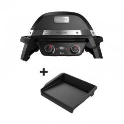 Barbecue électrique Pulse 2000 + plancha offerte de la marque Weber