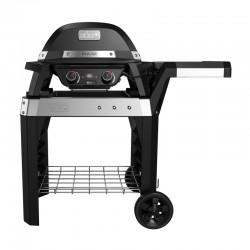 Barbecue électrique Pulse 2000 sur chariot de la marque Weber