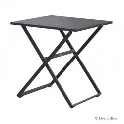 Table Edimbourg 70 x 70 cm - Gris de la marque Desjardins