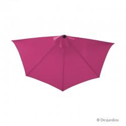 Parasol demi rond - Rose -...