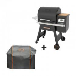Barbecue à pellets Timberline 850 noir + housse offerte de la marque Traeger