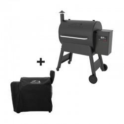 Barbecue à pellets PRO 780 noir + housse offerte de la marque Traeger