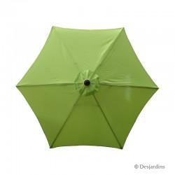 Parasol rond hexa - Vert...