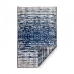 Tapis d'extérieur Brooklyn bleu - 90 x 150 cm de la marque Fab Hab
