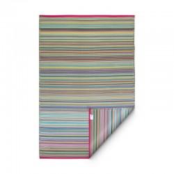 Tapis d'extérieur Cancun multicolore - 150 x 240 cm de la marque Fab Hab