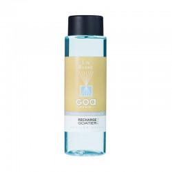 Recharge goatier 250 ml - Lin blanc de la marque Clem Goa