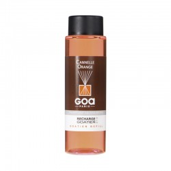 Recharge Goatier 250 ml - Cannelle / Orange de la marque Clem Goa