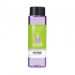 Recharge Goatier 250 ml - Figue & Mûre sauvage de la marque Clem Goa