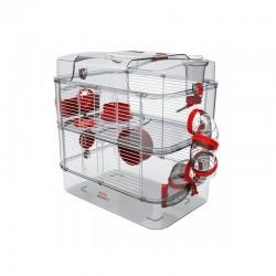 Cage Rody.3 - Duo - Rouge grenadine de la marque Zolux