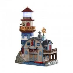 Phare Lobster Shack Lighthouse de la marque Lemax