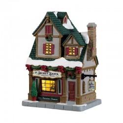 Boutique The Secret Santa Christmas Shoppe de la marque Lemax
