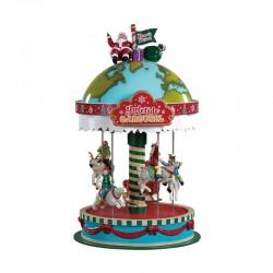 Manège Yuletide Carousel de la marque Lemax