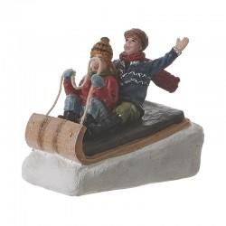 Figurine Fun on the Sleigh de la marque Luville