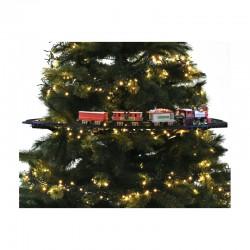 Train électrique pour sapin de Noël - 23 pièces