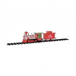 Train électrique Christmas Time - 13 pièces