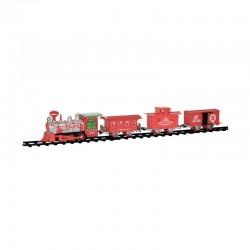 Train électrique Christmas Time - 18 pièces