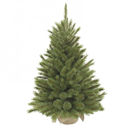 """Sapin artificiel """"Forest Frosted"""" vert - 90 cm - TRIUMPH TREE"""