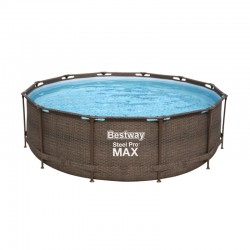 Piscine Power Steel ronde - 3,66 x 1,00 m de la marque Bestway