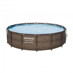 Piscine Power Steel ronde - 4,27 x 1,07 m de la marque Bestway
