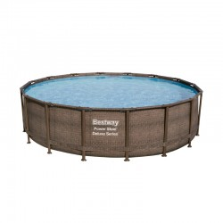 Piscine Power Steel ronde - 4,88 x 1,22 m - Bestway