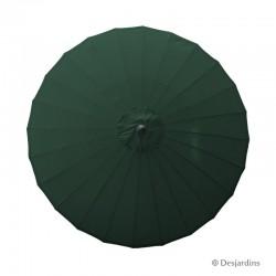 Parasol rond Zen - Vert...