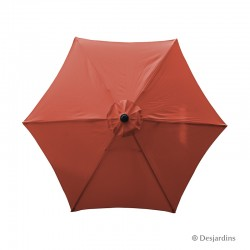 Parasol rond hexa -...