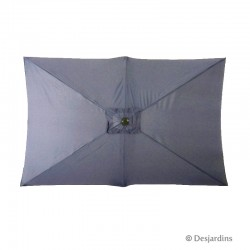Parasol rectangulaire -...