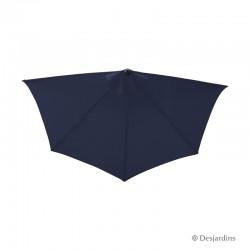 Parasol demi rond - Bleu...