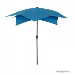 Parasol déco - Bleu -...