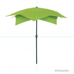 Parasol déco - Vert clair -...