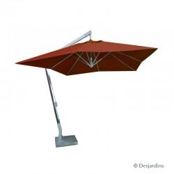 Parasol excentré carré -...