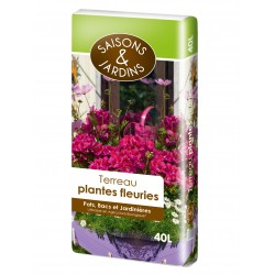 Terreau plantes fleuries -...
