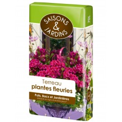 Terreau plantes fleuries...