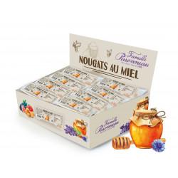 Nougat blanc au miel barre 30g - FINABEIL