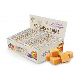 Nougat caramel beurre salé présentoir 30g - FINABEIL