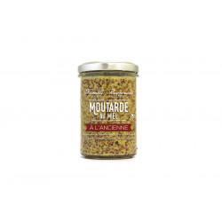 Moutarde à l'ancienne au miel 210g - FINABEIL