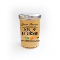 MIEL CREMEUX dosé à 1,2% poudre de ginseng 250g - FINABEIL