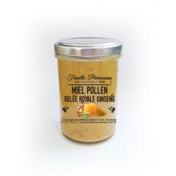 Miel crémeux pollen+gelée-5g poudre de racine gi - FINABEIL