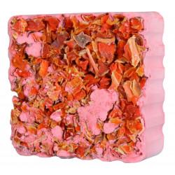 Pierre à ronger avec cubes carotte 75g - TRIXIE