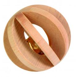 Balle à lamelles avec clochettes ø6cm - TRIXIE