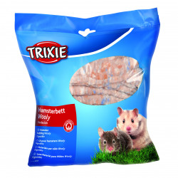 Lit hamster wooly 100g brun - TRIXIE