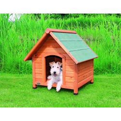 Niche natura pour chiens avec pignon S–M: 71x77x - TRIXIE
