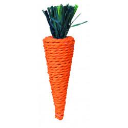 Jouet carotte pour petits animaux 20cm - TRIXIE