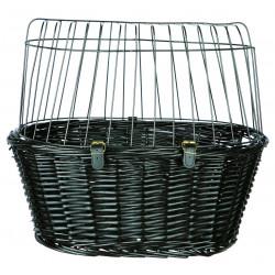 Panier vélo avec grille de protection 50x41x35cm - TRIXIE