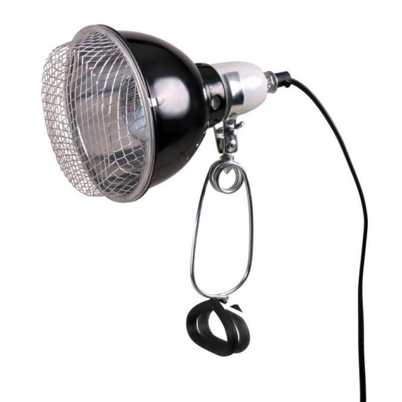 Lampe réflecteur à pince ø14x17cm - TRIXIE
