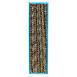 Plaque griffoir scratchy 48x5x13cm bleu - TRIXIE