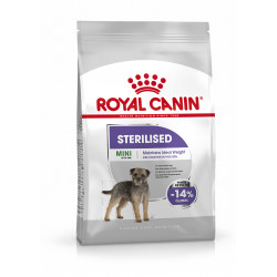 Mini sterilised Adult canine care nutrition 8kg - ROYAL CANIN